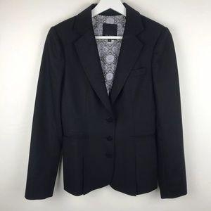 TED BAKER LONDON Black Blazer Jacket Size 2